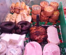 cooked meat counter